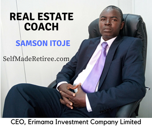 Nigeria real estate coach, Samson Itoje. Trainer at the property investment seminar